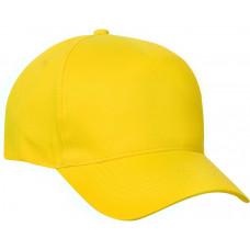 Clique Texas Cap met velcro sluiting lemon