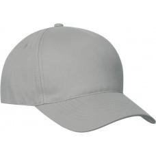 Clique Texas Cap met velcro sluiting zilver