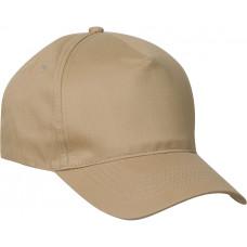 Clique Texas Cap met velcro sluiting khaki