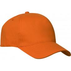 Clique Texas Cap met velcro sluiting diep oranje