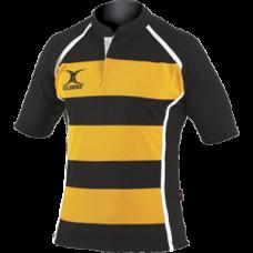 XACT HOOPS matchdayshirt Zwart Amber
