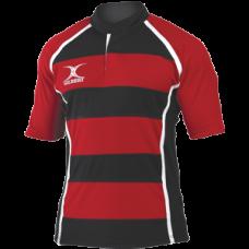 XACT HOOPS matchdayshirt Rood Zwart