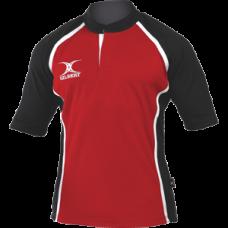 XACT matchdayshirt Rood-Zwart
